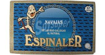 Conservas Espinaler Navajas 5/7 p 65 GRS