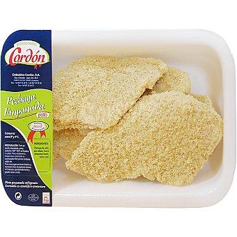Cordon Pechuga pollo empanada Envase 350 g