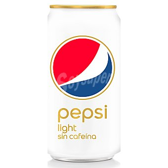 Pepsi Light sin cafeína Lata 33 cl