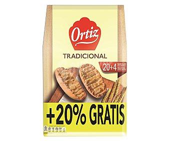 Ortiz Panecillos tostados clásicos 225 g