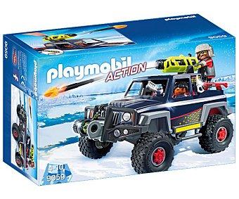 Playmobil Escenario de juego Todoterreno con Piratas del Hielo con figuras y accesorios, Action 9059 playmobil
