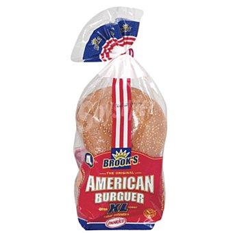 Panrico Pan especial para hamburguesas tamaño XL 4 unidades 300 gramos