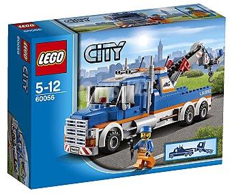 LEGO Juego de Construcciones City, Camión Grua, Modelo 60056 1 Unidad