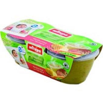 Milupa Tarrina de verduras-ternera Tarrina 400 g