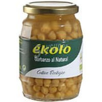 EKOLO Bio Garbanzos al natural Frasco 370 g