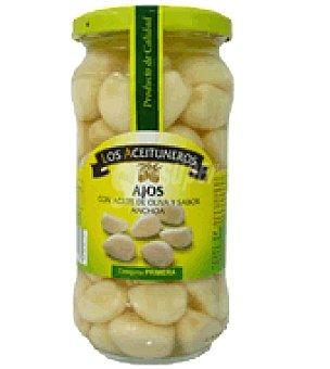 Los Aceituneros Ajos con aceite y sabor anchoa 370 g
