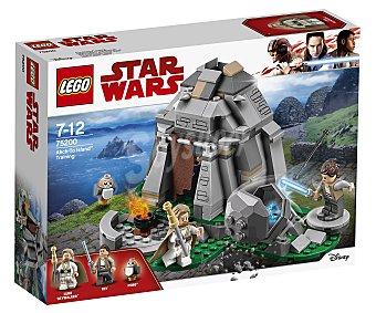 LEGO Star Wars Juego de construcciones con 241 piezas Entrenamiento en Ahch-To Island, Star Wars 75200 lego