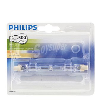 Philips Bombilla ecohalo lineal 400W R7S