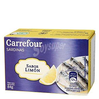 Carrefour Sardinas al limón 84 g