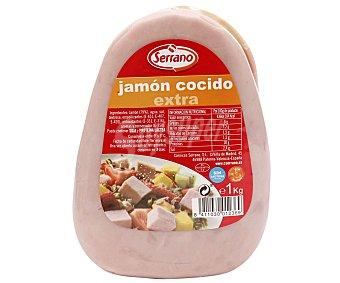 Jamón cocido de calidad extra, sin gluten y sin lactosa serrano 1000 g