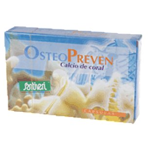 Santiveri Osteopreven calcio coral cápsulas 1 paquete de 26 gr