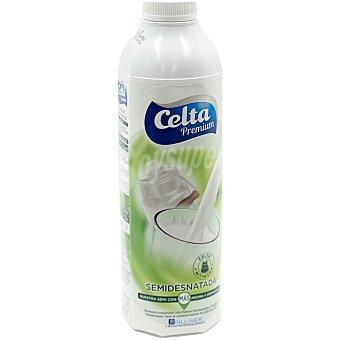 Celta leche semidesnatada premium  botella 1lt