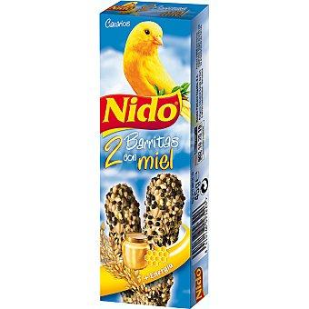 Nido Purina Barritas con miel para canarios 2 unidades estuche 45 g 2 unidades