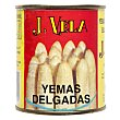 Yemas esparragos blancos delgadas 135 g J. Vela