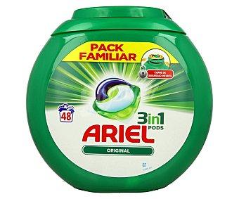 Ariel Detergente en cápsulas de gel para lavadora 48 uds