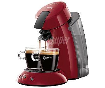 Philips Cafetera monodosis, sistema de capsula Senseo, textura cremosa, depósito XL de HD7818/22 1,2litros