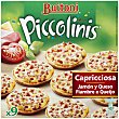 Piccolinis Capricciosa 9 unidades - 270 g Buitoni