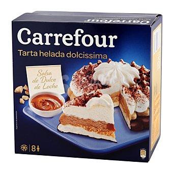Carrefour Tarta helada con caramelo toffee y almendras 850 ml