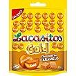 Gold grageas de chocolate de caramelo  bolsa 125 g Lacasitos Lacasa