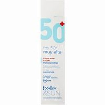 FPS50+ BELLE&SUN Crema Solar Facial 50 ml