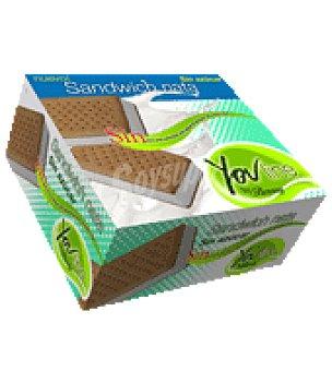 Bornay Desserts Helado sandwich nata sin azúcar 6 ud