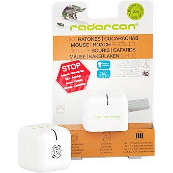 Radarcan Ahuyentador de ratones y cucarachas para interior funciona con pilas envase 1 unidad ( 4x1,5v AAA no incluidas ) envase 1 unidad
