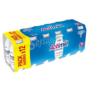 Actimel Danone Natural desnatado 0% Pack 12 x 100 ml