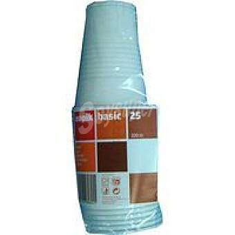 Nupik Vaso transparente 220 cc Pack 25 unid