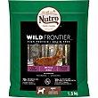 Wild frontier pienso para perros adultos de razas medianas con venado y ternera Envase 1,5 kg Nutro