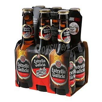 Estrella Galicia Cerveza especial Pack 6x20 cl