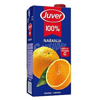 Juver Zumo de naranja 100% Brik 1 litro