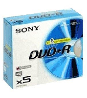 Sony Dvd+r slim 5 colores Unidad