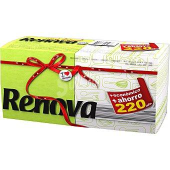 Renova Servilletas bicolor paquete ahorro Envase 220 unidades