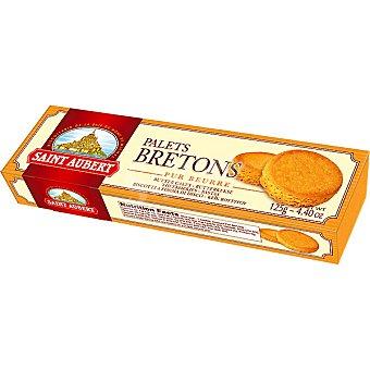 Saint Aubert Galletas de mantequilla Palets Breton Paquete 125 g