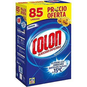 COLON detergente máquina polvo maleta 85 cacitos