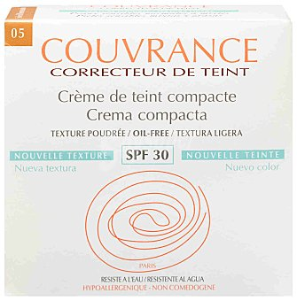 COUVRANCE Avene maquillaje compacto bronceador o/f 9,5 g