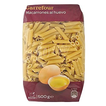 Carrefour Macarrones al huevo 500 g