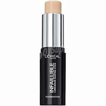Fondo maquillaje Infalible stick 160 Sable L`OREAL pack 1 unid
