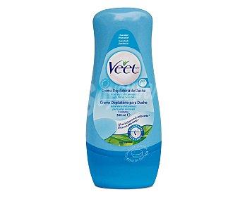 Veet Crema depilatoria para ducha piel sensible Bote 300 ml