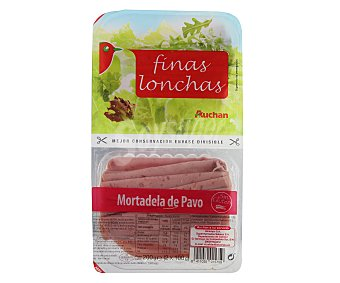 Auchan Mortadela Pavo Finas Lonchas 200 g