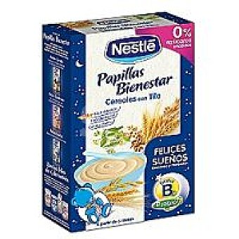Nestlé Papilla Felices Sueños Bienestar Caja 600 g