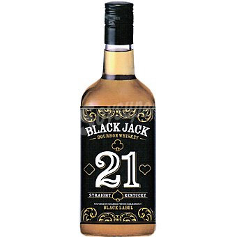 BLACK JACK 21 Bourbon Whisky Botella 70 cl