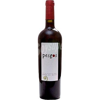 Pesgos Vino tinto joven de la Tierra de Cangas Asturias Botella 75 cl