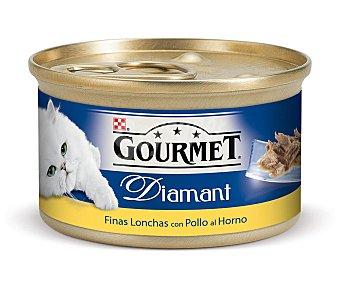 Gourmet Purina Alimento para Gatos Mousse Pollo Diamant 85g