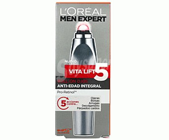 Men Expert L'Oréal Paris Antiedad Ojos Vitalift 5 10ml