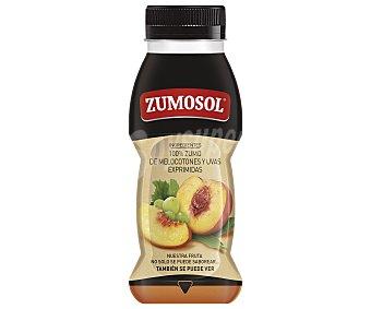 Zumosol Zumo melocotón y uva exprimido Pet 200 ml