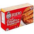 Filetes de caballa de Andalucía en tomate Lata 78 g neto escurrido Tejero