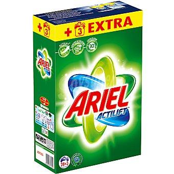 ARIEL detergente máquina polvo con actilif maleta 28 cacitos + 3 gratis