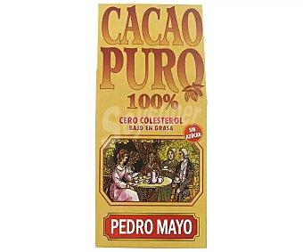 Pedro Mayo Cacao en polvo puro natural Paquete 250 g