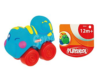 PLAYSKOOL Animales blanditos de colores con ruedas 1 unidad
